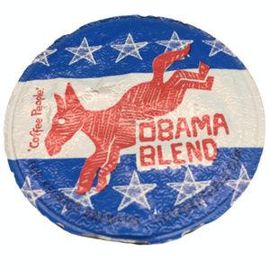 Obama Blend Coffee K Cup - Unused